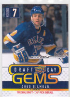 09/10 UD..DOUG GILMOUR..DRAFT DAY GEMS..# GEM21..BLUES..FREE COMBINED SHIP
