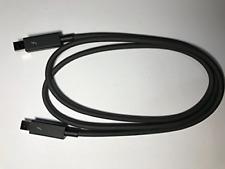 1M Thunderbolt Double Ended Cable Lead for Lacie 5big Thunderbolt 2 RAID