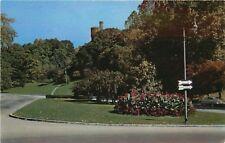 Cincinnati, Ohio, OH, Scene in Eden Park, Old Car, Vintage Postcard b6340