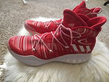 finest selection 80a9a eb85c Adidas D Rose Boost Orange White Mens Basketball Shoes Size 19 NEW