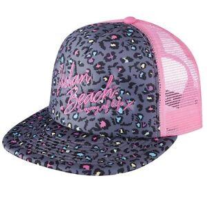 UBBAG37 Urban Beach South Beach Rockstar Trucker Ladies Cap OSFA Pink MRP £9.99