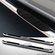 "Fit 09-15 Honda Pilot 3"" Chrome Steel Side Step Nerf Bars Rail Running Boards hd"