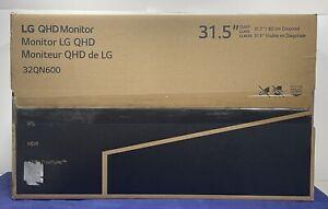LG 32QN600-B 32-Inch QHD 2560 x 1440 IPS AMD FreeSync HDR 10 HDMI DP Monitor