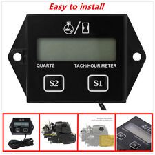 Engine electronic tachometer,LCD digital display(5 Digit Display)Easy to install