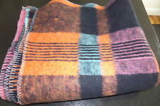 Checked Contemporary 100% Wool Decorative Throws