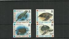 BIOT SG185-188 TURTLES MNH