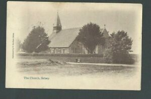 1904 Post Card Great Britain Church In Selsey