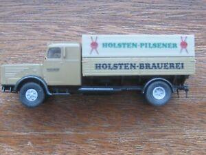 """Brekina Mercedes Benz L4500 """"Holstein Pilsener"""" Beer Truck. 1:87 Scale. No Box."""
