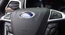 AUTO DECORATION ACCESSORIES Car Steering Wheel Center Logo Ring For Focus Fusion