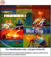 1976 Williams Blue Chip Pinball Tune-up Kit - Includes Rubber Ring Kit