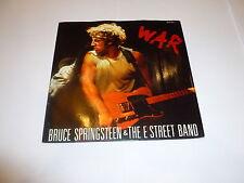 """BRUCE SPRINGSTEEN & THE E STREET BAND - War - 1986 UK 7"""" vinyl single"""