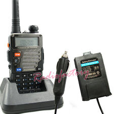 Dual Band UV-5RB Radio UV-5R UV5R + Car Charger Baofeng For UV-5R UV5R