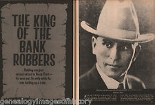 Henry Starr - King Of The Bank Robbers + Genealogy