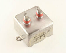 New Sprague CP54 2uF 600VDC Metalized Paper Bathtub Style Capacitor Mil Spec