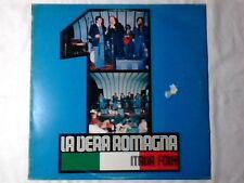 LA VERA ROMAGNA Italia folk vol. 1 lp MAI SUONATO UNPLAYED!!!