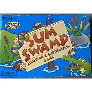 Learning Resources Sum Swamp Addition & Subtraction Game - Educational - 2 To 4