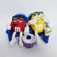 M&M's At The Movies 3D Glasses m&m Novelty Candy Dispenser m m Collectible Gift