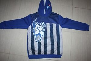 north melbourne kangaroos AFL guernsey hoodie kid's sizes, with defects