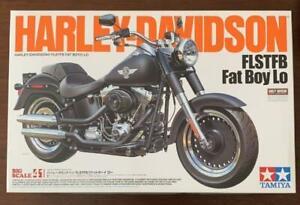 Tamiya 1/6 Big Scale No.41 Harley Davidson FLSTFB Fat Boy Lo 2014 Discontinued