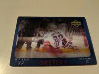 1997-98 Upper Deck Diamond Vision #1 Wayne Gretzky New York Rangers Hockey Card