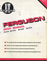 I&T Shop Manual FE-2 For Massey Ferguson Tractor TE20 TO20 TO30