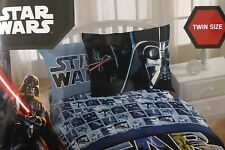 5 pc Disney Star Wars Twin Comforter, Sham & Sheet Set NIP