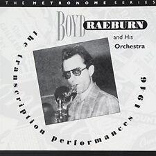 Boyd Raeburn - Transcription Performances 1946 [CD]