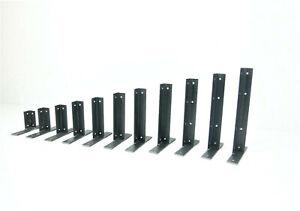Pair Alcove Shelf Angle Steel T Brackets Shelves Corner Scaffold Timber Metal