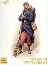 HaT 8148 - WWI French Infantry 1914             1:72 Figures Model Kit/Wargaming