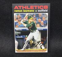 SP! 🚨Ramon Laureano 2020 Topps Heritage High Number #495 Oakland Athletics