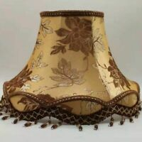 Bedroom Table Lampshades Modern Light Cover Home Elegant Decor Lamp Fabric Shade