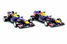 SET*2 CAR MODELS FORMULA-1 SEBASTIAN VETTEL RB9 #1+MARK WEBBER RB9#2,BURAGO1:64