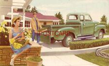 Mid-1950's GMC PICKUP ADV. pm'd 1960