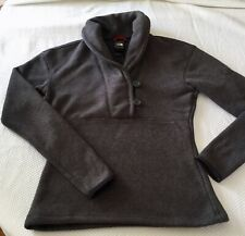 The North Face Gray Long Sleeve Pullover Sweater Women XS Excellent Condition