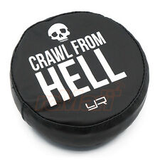 Yeah Racing 1:10 Tire Cover 1.9 Crawler Wheels Crawl From Hell RC Cars #YA-0490