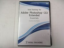 TOTAL TRAINING FOR Adobe Photoshop CS3 EXTENDED ESSENTIALS CHAD PERKINS  EW 138A