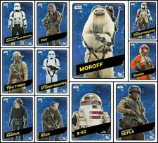 Topps Star Wars Card Trader ROGUE ONE CHALLENGERS [11 CARD SPACE SET] Pao/Bodhi+