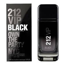 212 VIP BLACK FOR MEN de CAROLINA HERRERA - Colonia / Perfume 100 mL Uomo CH NYC
