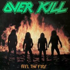 OVERKILL - Feel The Fire LP - COLORED Vinyl Album - NEW THRASH METAL RECORD