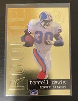 1995 Fleer Ultra Gold Medallion - Rookie - #430 - Terrell Davis - Denver Broncos
