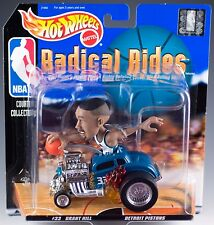Hot Wheels Radical Rides Detroit Pistons #33 Grant Hill New On Card 1998