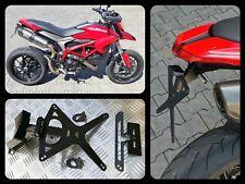 Portatarga regolabile Ducati Hypermotard Hyperstrada 821 939 anche scarico alto