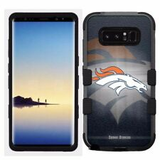 for Samsung Galaxy Note 8 Rugged Hard+Rubber Hybrid Case Denver Bronco