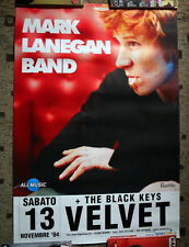 Marl Lanegan The Black Keys poster originale 100 x 70 cm Italia 2004 Velvet