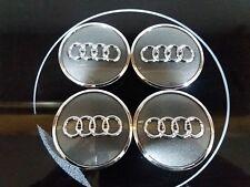 1X TAPAS LLANTAS Buje  RUEDA AUDI A1,A2,A3,A4,A5..etc.ORIGINALES NO COPIA,60MM.