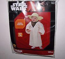 NWT NEW Halloween Costume Star Wars Yoda 3T-4T Child Toddler