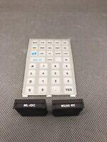 RARE BG/UG & ML-IDC ROM Modules for the HP 41C/CV/CX Calculators with Overlay