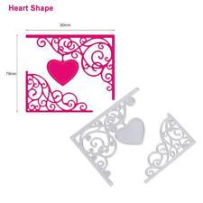 Heart Metal DIY Cutting Dies Stencil Scrapbook Album Paper Card Embossing Craft