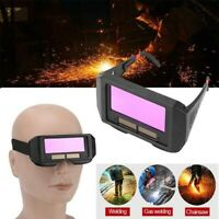 Solar Auto Darkening Welding Glasses Welder Helmet Eyes Goggle For Welding