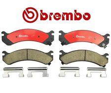 For Chevy Silverado GMC Sierra Yukon Brake Pad Ceramic With Shims Brembo P10026N